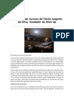 Matéria Flávio Augusto Da Silva
