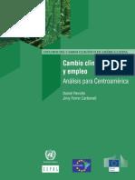 Cambio Climático y Empleo _-_ CEPAL.