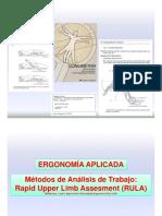 Ergonomia - RULA