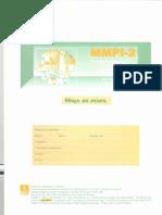 MMPI Hoja de Perfil y Hoja de Respuestas