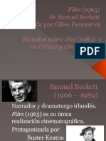 Film Beckett - Deleuze