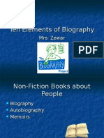 Elements of Biography