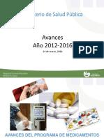 Presentación Ministerio de Salud Pública-Rendición de Cuentas Ampliada