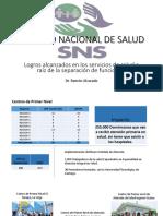 Presentación Servicio Nacional de Salud-Rendición de Cuentas Ampliada