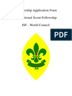 Isf Membership Application