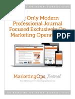 Marketing Ops Journal Catalog