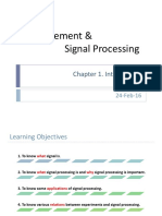 01 Signal Processing = Introduction