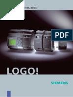 Manual PLC Logo Siemens
