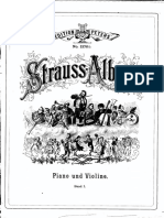 Strauss Band I (violin)
