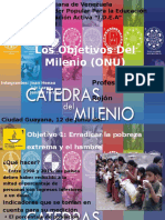 Los Objetivos Del Milenio(Onu)