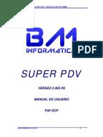 Manual Do Usuario SUPER PDV