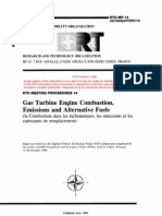 Gas Turbine Engine Combustion,