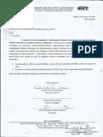 Ofício SEMOC, SEDEC e SEMAS