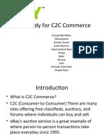 Case Study for C2C Commerce