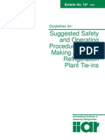 Bulletin 107 - Guidelines for Suggested Safety and Operating Procedures When Making Refrigeration Plant Tie-Ins