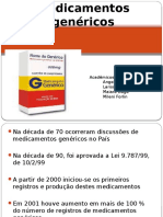 medicamentos genericos SEMINARIo