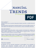 Prezentare reseacher independent Financial Trends