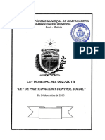 Ley PCCS Guayarmerín