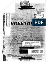 Operation Greenhouse. Scientific Director's Report of Atomic Weapon Tests at Eniwetok