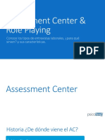 Assessment Center & Role Playing