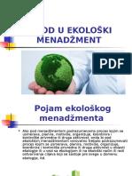 Jasna Stojanović, Milica Bošković - Uvod u Ekološki Menadžment