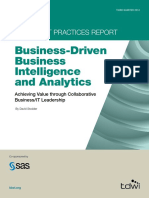 Business-Driven Business Intelligence and Analytics