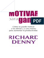 Libro Motivar Para Ganar