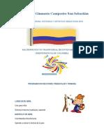 Programacion Semana idiomatica y bicentenaria