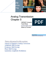 CMPE457-Chapter 5 - Analog Transmission