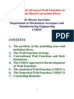 Application of Advanced Wall-Functions to Forced and Mixed Convection Flows