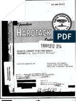 Operation HARDTACK, Technical Summary of Military Effects Programs 1 - 9, Sanitized Version