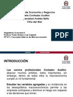 PPT N°1 Conceptos Básicos de Macroeconmía