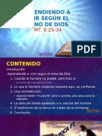 Aprendiendo a Vivir Según El Reino de Dios 15112015