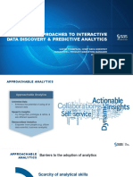 Practical Approaches to Interactive Data Discovery and Predictive Analytics