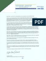 CNY AFL-CIO Letter to Syracuse Mayor Miner