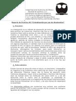 Reporte Práctica #3 (Química Orgánica I)