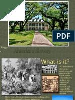 american slavery powerpoint