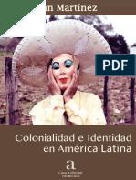 Colonialidad e Identidad en América Latina