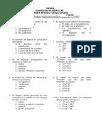 Examen Grado 10 1 Periodo