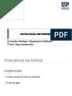 Patologias PINTURAS