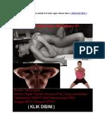 Cara Senam Kegel Pria untuk bercinta agar tahan lama ( SENAM SEX )