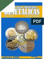Catalogo de Monedas Bimetalicas