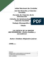 Mono Juarez Criticarazon