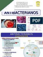 3ra Clase - Cefalosporinas, Aztreonam, Carbapenemicos. Dra. De Freitas