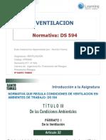 Ventilacion IPST 2016 Presentacion 1 Normativa