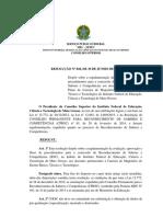 Resolução Nº 028.2014 Aprovação Do Rsc Ifmt