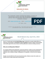 World Malaria Day - The Shantanu Tomar Foundation