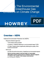Judd Law - Environmental Impact Review of Greenhouse Gas Emissions