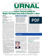 Officers and Directors Personal Liability for Wages