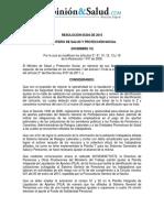 Resolucion 5304 de 2015